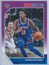 Frank Ntilikina Panini NBA Hoops 2019-20  Purple
