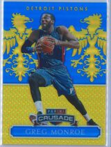 Greg Monroe Panini Excalibur Basketball 2014 15 Crusade Camouflage Blue 002149 1