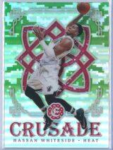 Hassan Whiteside Panini Excalibur Basketball 2016-17 Crusade Camo