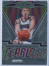 Jason Williams Panini Prizm Basketball 2020-21 Fearless