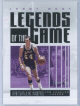 Jerry West Panini NBA Hoops 2020 21 Legends Of The Game 168699 1