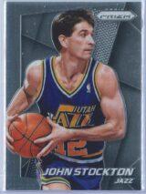 John Stockton Panini Prizm Basketball 2014-15 Base