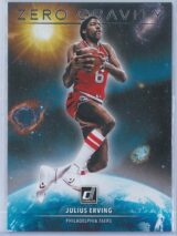 Julius Erving Panini Donruss Basketball 2020-21 Zero Gravity