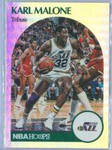 Karl Malone Panini NBA Hoops 2020-21 Tribute