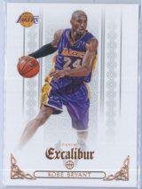 Kobe Bryant Panini Excalibur Basketball 2014-15 Base