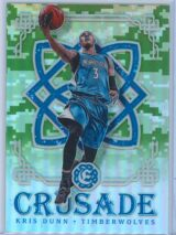 Kris Dunn Panini Excalibur Basketball 2016-17 Crusade Camo