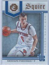 Kristaps Porzingis Panini Excalibur Basketball 2016-17 Squire