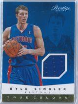 Kyle Singler Panini Prestige 2013-14 True Colors Materials