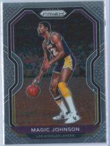 Magic Johnson Panini Prizm Basketball 2020-21 Base