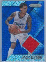 Matt Barnes Panini Prizm Basketball 2014-15 Jerseys Prizms Blue Mojo