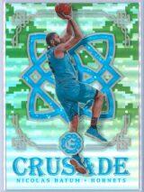 Nicolas Batum Panini Excalibur Basketball 2016-17 Crusade Camo