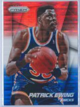 Patrick Ewing Panini Prizm Basketball 2014-15 Base Red White Blue Pulsar