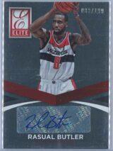 Rasual Butler Panini Elite Basketball 2014 15 083199 Auto 1
