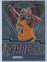 Shaquille Oneal Panini Prizm Basketball 2020-21 Fearless