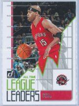 Vince Carter Panini Donruss Basketball 2020-21 All Time League Leaders
