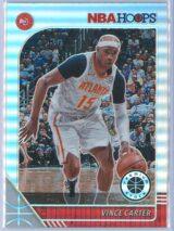 Vince Carter Panini NBA Hoops Premium Stock 2019-20 Base Silver Prizm