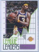 Wilt Chamberlain Panini Donruss Basketball 2020-21 All Time League Leaders