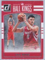 Yao Ming Panini Donruss Basketball 2016-17 Hall Kings