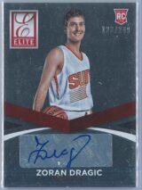 Zoran Dragic Panini Elite Basketball 2014 15 123249 RC Auto 1