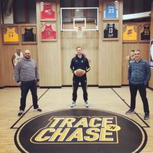 Coach Isidoros Koytsos pays a visit to Trace 'n Chase