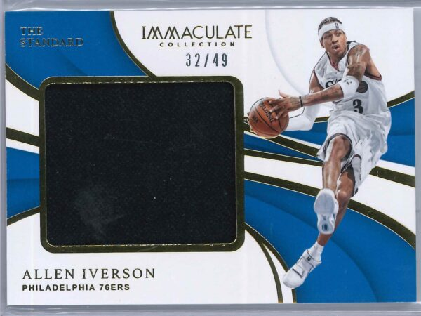 Allen Iverson Panini Immaculate 2018-19 The Standard  32/49