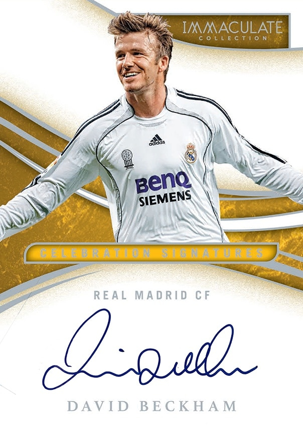 Panini America Signs Soccer Icon David Beckham to Exclusive Autograph and Memorabilia Deal