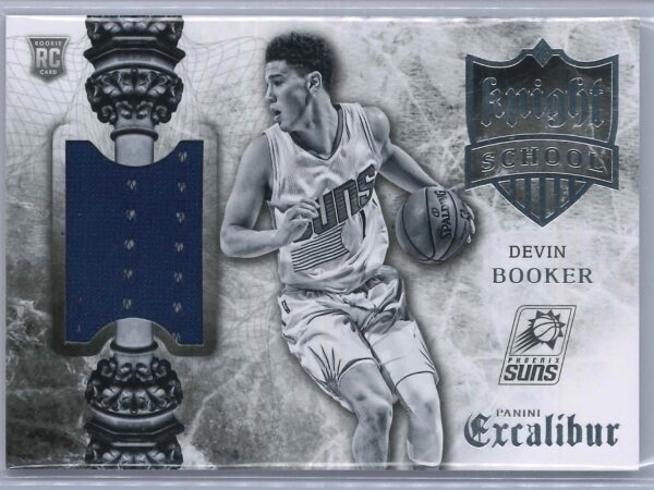 Devin Booker Panini Excalibur 2015-16 Knight School RC Patch