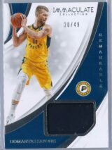 Domantas Sabonis Panini Immaculate 2018 19 Remarkable 2049 1 scaled