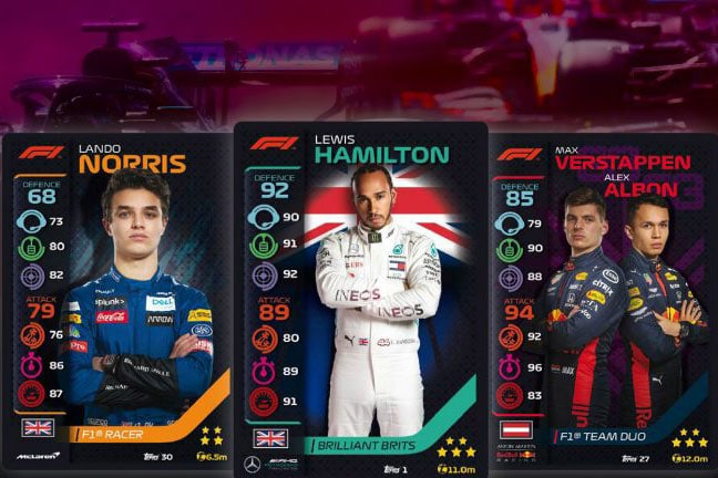 Formula 1 and Topps sign exclusive global licence for collectible cards and sticker albums