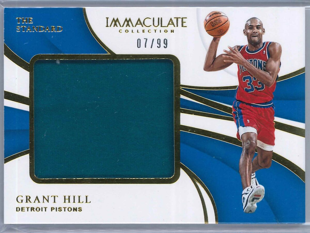 Grant Hill Panini Immaculate 2018-19 The Standard  07/99