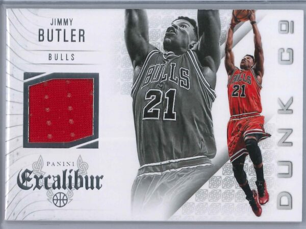 Jimmy Butler Panini Excalibur 2014-15 Dunk Co Patch