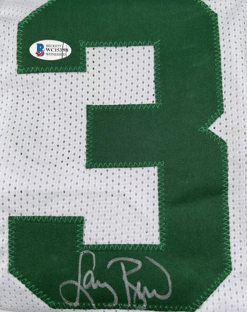 Larry Bird Authentic Signed White Pro Style Jersey Autographed [BAS WC15398]