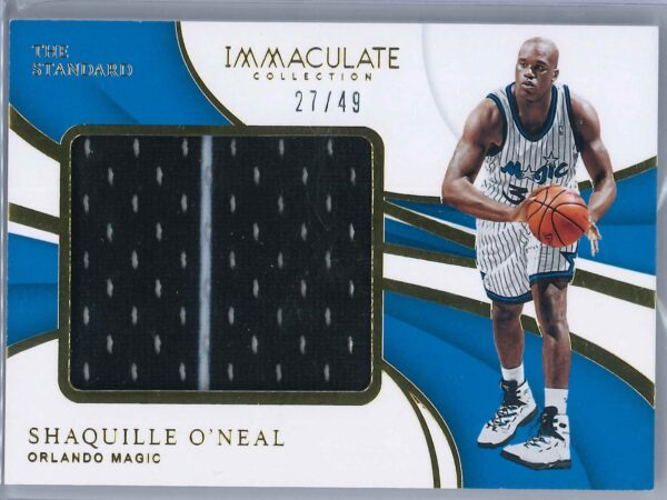 Shaquille O'neal Panini Immaculate 2018-19 The Standard  27/49
