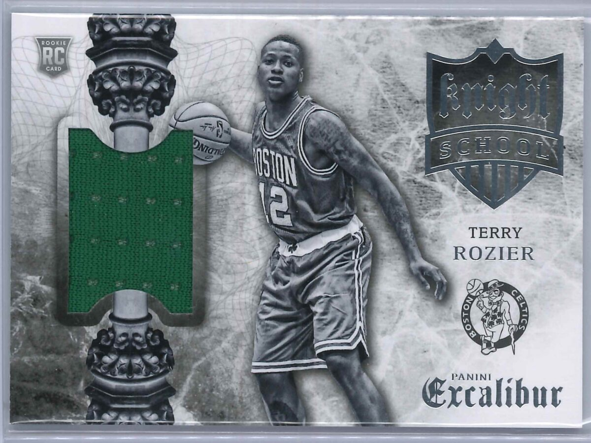 Terry Rozier Panini Excalibur 2015-16 Knight School RC Patch