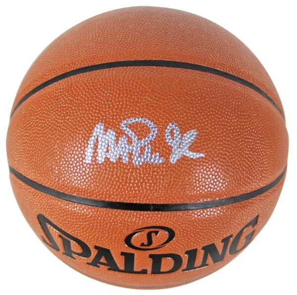 Lakers Magic Johnson Authentic Signed Basketball Autographed BAS Witnessed 2