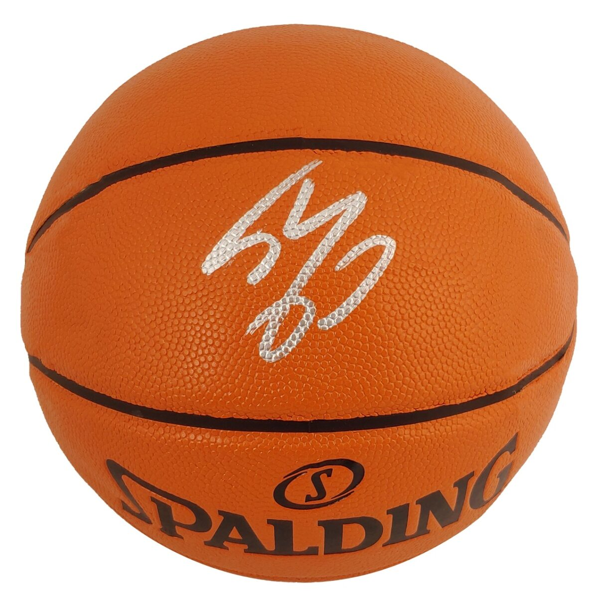 Lakers Shaquille O'Neal Signed Spalding Game Ball Series Basketball BAS